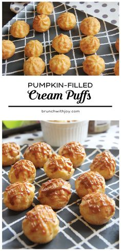 These fluffy and delicious pumpkin-filled cream puffs are so easy to put together; they make a fabulous dessert, especially for #NationalGrandparentsDay and #SundaySupper!