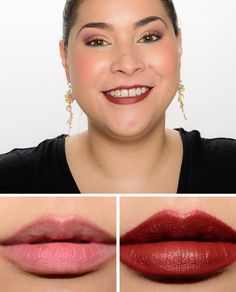 Pat McGrath Omi MatteTrance Lipsticks ($38.00 for 0.14 oz.) is a muted, medium-dark pink with more neutral undertones and a cream finish. There was a notic