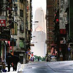 A street of Hong Kong