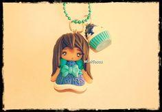 #sweet#doll#cupcake#hanging  @Minicosas
