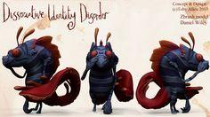 Pet Monsters, Mini Monster, Monster Concept Art, Sad Art, Zodiac Art, Fantastic Beasts, Fantasy Creatures, Mental Illness, Disney Art
