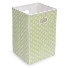 <li>Handy, lightweight, easy to carry around, won't scratch or scuff floors, and folds flat for storage</li> <li>Tall, fabric covered cube is useful and stylish</li> <li>Use several to create a laundry sorting station</li>