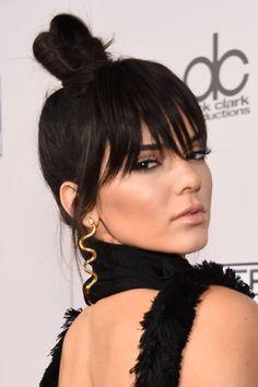 Kendall Jenner Bangs 2015 | POPSUGAR Beauty