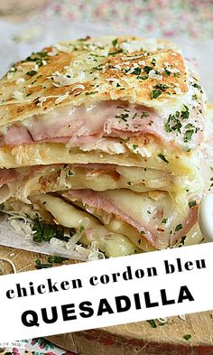 Meat Recipes, Mexican Food Recipes, Chicken Recipes, Cooking Recipes, Healthy Recipes, Dinner Entrees, Dinner Recipes, Quesadillas, Baking Recipes