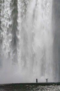 Wodospad Skogafoss
