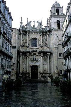 Igrexa de Santa Eufemia. Ourense. Galicia. Spain.