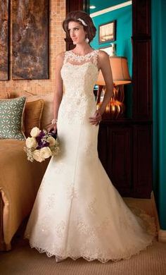 Mary's Bridal 6202 wedding dress currently for sale at 80�20off retail.