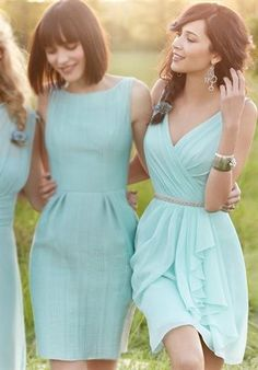 Turquoise bridesmaid dress - My wedding ideas