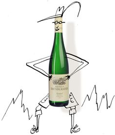 While I thought all of these wines were really good, they gave just a hint of how good Austrian rieslings can be. (Illustration: Serge Bloch)