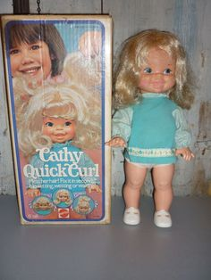 Cathy Quick Curl doll