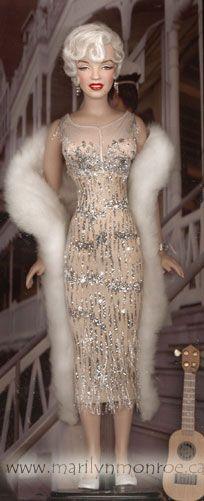 Image detail for -Marilyn Monroe Custom Dolls by Kim Goodwin
