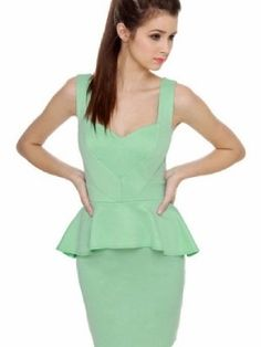 Fashion Trends Spring / Summer 2012 ~ This spring and summer you will find yourself wrapped in heavenly fabrics, adorned with fabulous vivid color, as well as soft neutrals, and pastels - most popular being soft mint green.