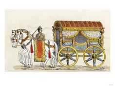 Roman traveling carriage.