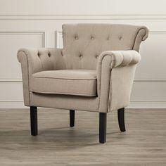 Alcott Hill Alica Arm Chair & Reviews | Wayfair