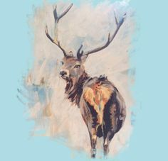 Stag Painting