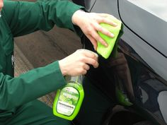 Shine responsibly with Pearl #GoGreen Professional Waterless Car Wash