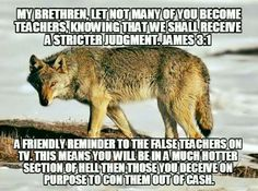 christian quotes | Bible verses | James 3: 1 | false teachers