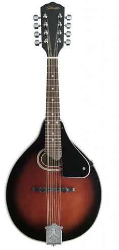 "Stagg Model M30 ""A"" Style Spruce Top Mandolin in a Redburst Finish - Ships Free! #Stagg #A"