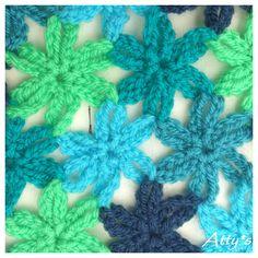 Atty's : Joined Little Crochet Flower Pattern