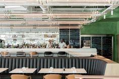 Alain Ducasse's Champeaux brasserie by ciguë, Paris – France » Retail Design Blog