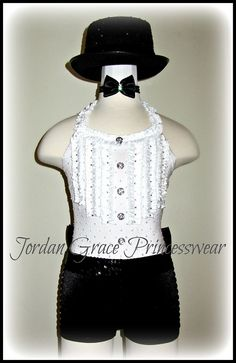 """Puttin on the Ritz""-Jordan Grace Princesswear custom dance costumes"
