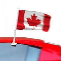 Car Flags. A Rant on Watching the Euro From Canada