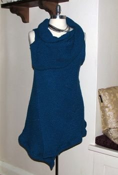 Wobisobi: Sweater Vest Wrap, DIY i love things that you can wear in many ways!!!