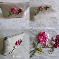 Bordados Esmeralda: estuches bordados