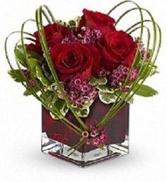 valentine hand bouquet