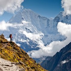 Himalaya, Nepal One day. Maybe my cousin will take me who previously climbed.