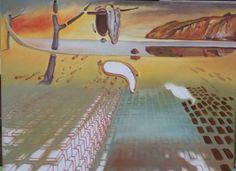 """Trabalho inspirado em a """"Desintegração da Persistência da Memória"""" de Dalí - (6ª etapa) (11/1/2017)"""