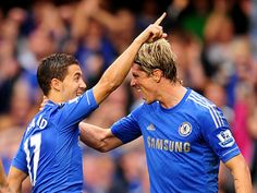 With a superb second from Fernando Torres putting the seal on a 2-0 win that mean the Blues are early leaders of the Premier League