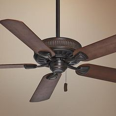 "54"" Casablanca Ainsworth Brushed Cocoa Ceiling Fan - #Y8514 