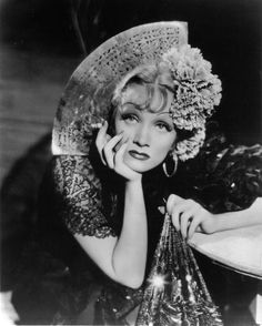 Marlene Dietrich in The Devil Is a Woman (1935) directed by Josef von Sternberg. Travis Banton goes lavish in this decadent production. I love watching this movie with the sound off so I can focus better on the clothes and Dietrich's fabulous face. Every one of her expressions is priceless.