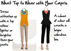 """""""how to wear capris"""" by imogenl ❤ liked on Polyvore"""