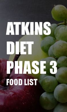 The Atkins diet phase 3 food list includes the reintroduction of naturally sweet fruit and some higher carb vegetables. Here's what you can and can't eat in phase Diet Keto Diet List, Ketogenic Diet Meal Plan, Best Keto Diet, Ketogenic Diet For Beginners, Diet Food List, Diets For Beginners, Healthy Diet Recipes, Diet Meal Plans, Food Lists