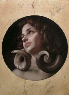 Roberto Ferri. L'ombra Della Luna (The Shadow of the Moon). 2013.