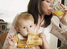 The best foods to eat after having a baby   (remember this when the time comes)