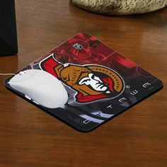 Ottawa Senators Team Logo Neoprene Mousepad