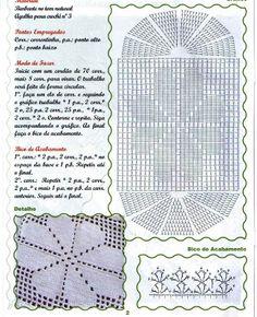Tecendo Artes em Crochet: Tapete Branquinho e Charmoso!