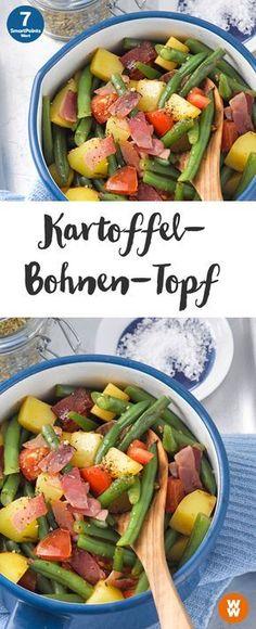 Kartoffel-Bohnen-Topf | 7 SmartPoints/Portion, Weight Watchers, Eintopf, fertig in 30 min.