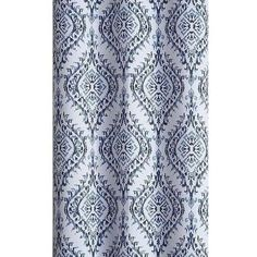 Vcny London Blackout Curtain Panel Pair ($35) ❤ liked on Polyvore featuring home, home decor, window treatments, curtains, damask curtains, grommet draperies, grommet curtain panels, grommet window panels and grommet drapery panels