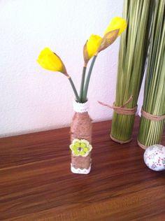 Naturjute Vase 8€  www.facebook.com/CordeliasArtandMore