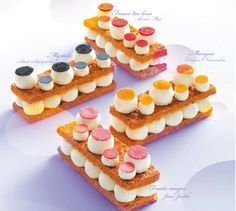 4 seasons mille-feuilles by Fauchon