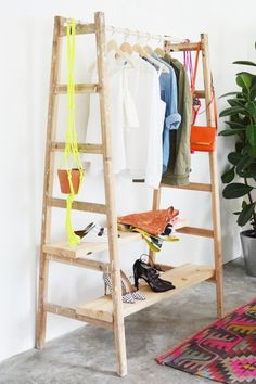 5 Unusual & Modern Ways to Display Your Clothes at Home