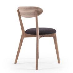 Wood Fold Dining Chair, Whitepigmented Oak £68. - RoyalDesign.co.uk