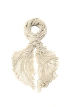 inspiration - oversized airy scarf knit with a very fine yarn... Natural knitting scarf knitted shawl by Toosha on Etsy