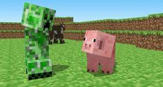 """O criador de """"Minecraft"""" estava modelando um porquinho e acabou criando o Creeper sem querer!"""