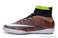 2015 ACC NIKE ELASTICO Superfly INDOOR WHITE/RED