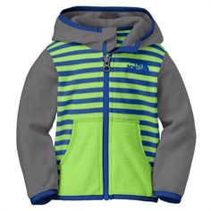The North Face Infant Boy Striped Glacier Full-Zip Hoodie